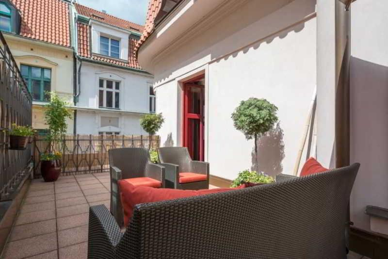 Terrace Buddha Bar Hotel Prague