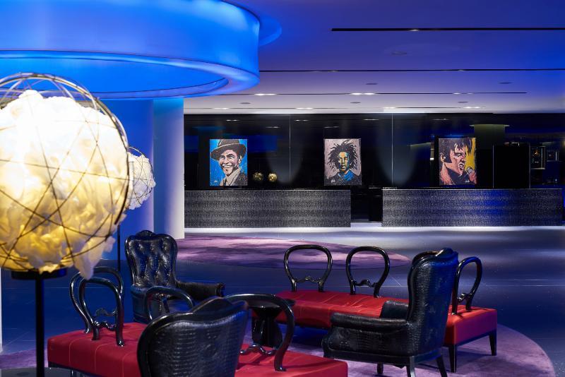 Lobby Hard Rock Hotel Singapore