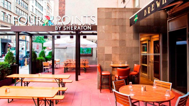 Bar Four Points By Sheraton Manhattan Chelsea