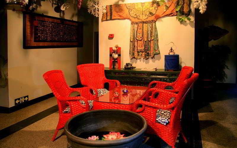 Lobby Beijing Hutong Culture Inn