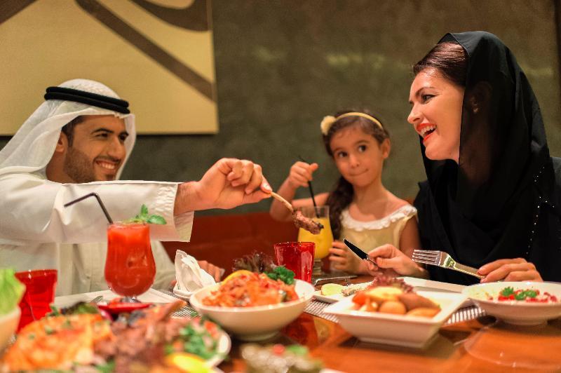 Restaurant Crowne Plaza Hotel Abu Dhabi Yas Island