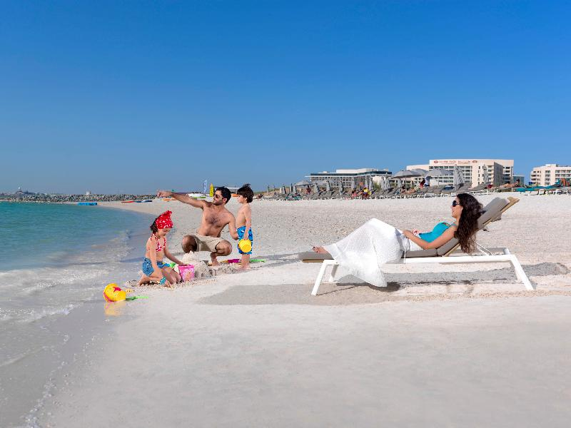Beach Crowne Plaza Hotel Abu Dhabi Yas Island