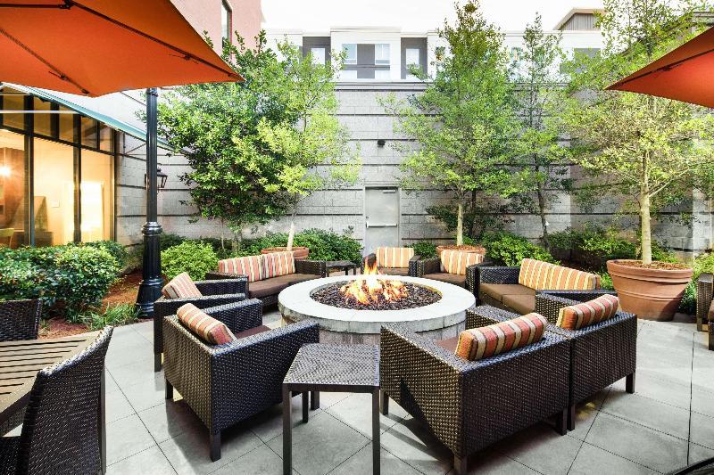 General view Hampton Inn & Suites Little Rock-downtown