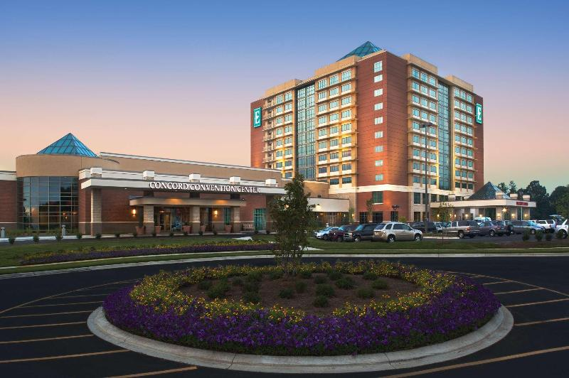 General view Embassy Suites Charlotte - Concord/golf Resort