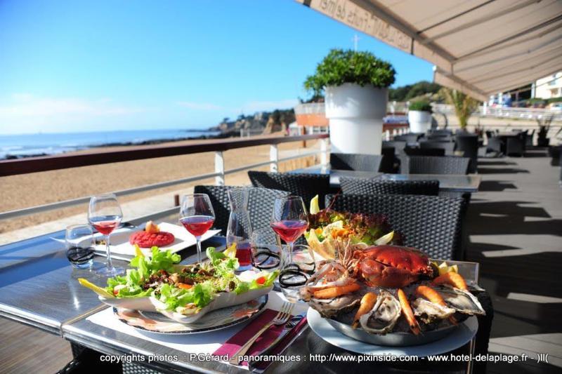 Restaurant Best Western Hotel De La Plage