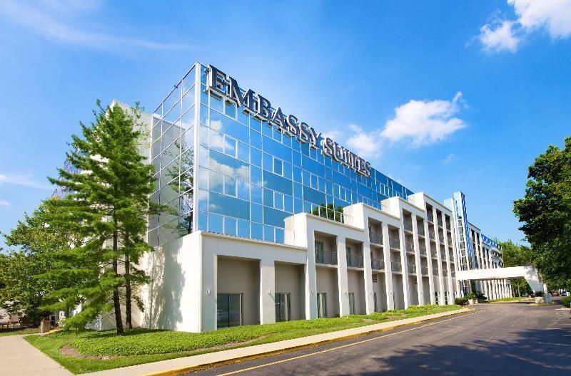 General view Embassy Suites Cincinnati-northeast (blue Ash)