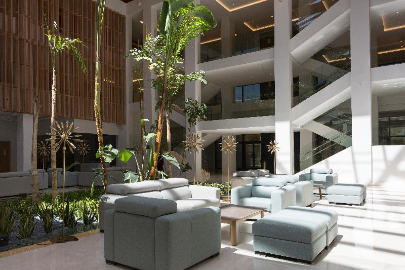 Lobby Hipotels Barrosa Park