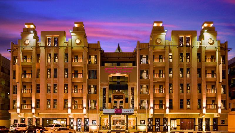 General view Mercure Gold Hotel Al Mina Rd