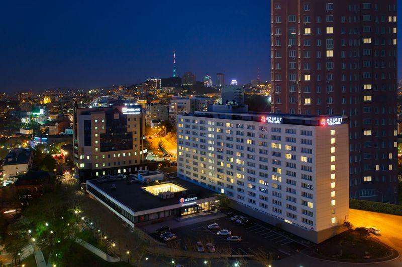 General view Azimut Hotel Vladivostok