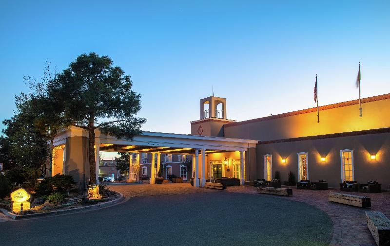 General view Hilton Santa Fe Historic Plaza