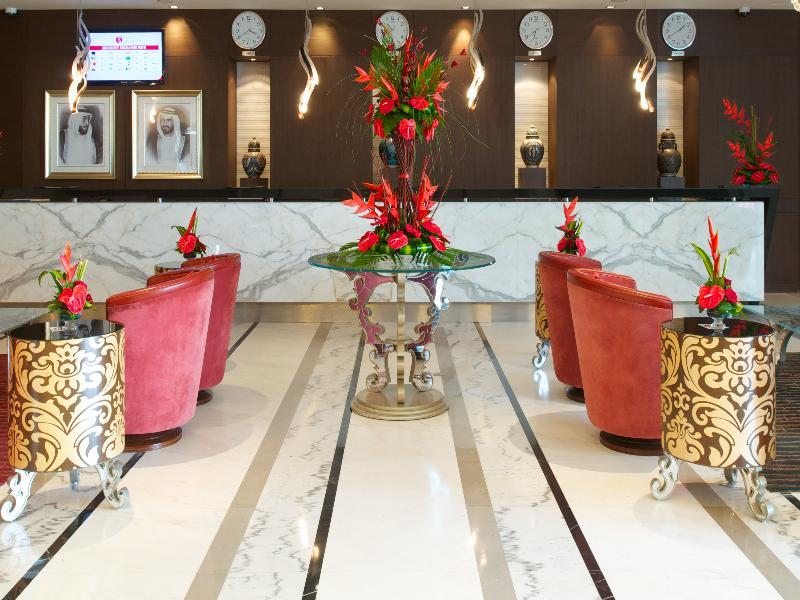 Lobby Ramada Chelsea Hotel Al Barsha