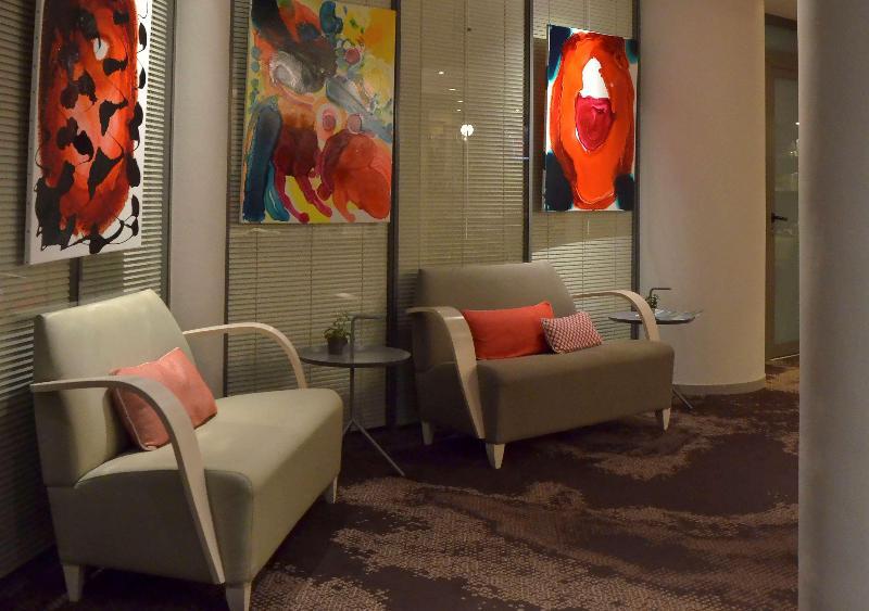 Lobby Best Western Les Bains De Perros-guirec Hotel Et S
