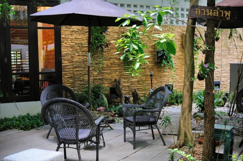Kasemsarn Hotel Chanthaburi - Terrace - 12