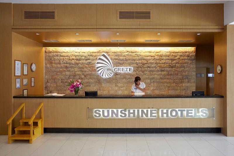 Lobby Sunshine Crete Beach