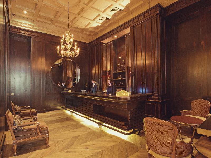 Lobby Palazzo Donizetti Hotel