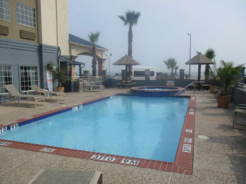 Pool Best Western Galveston West Beach Hotel