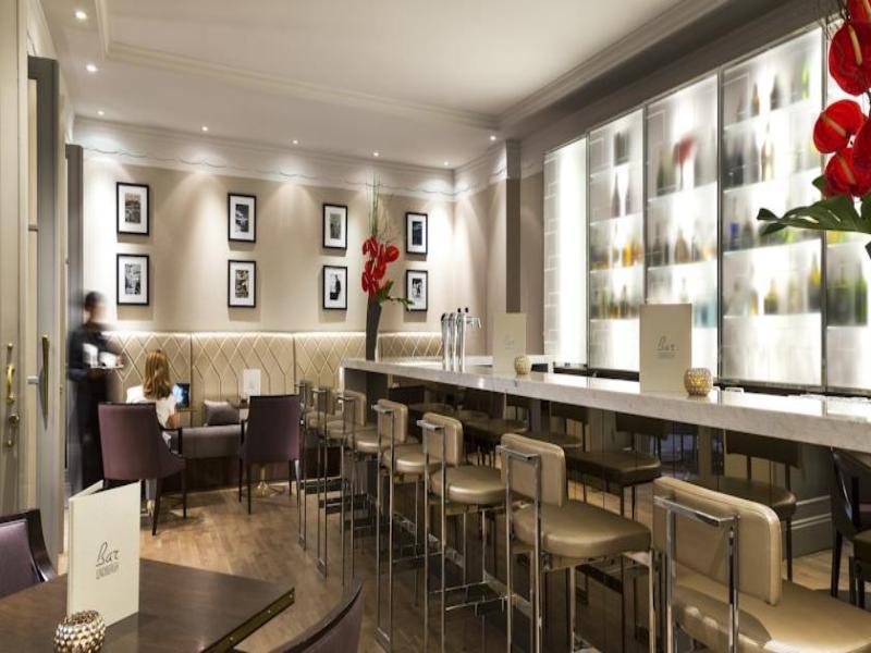 Bar Marriott Hotel Paris Opera Ambassador