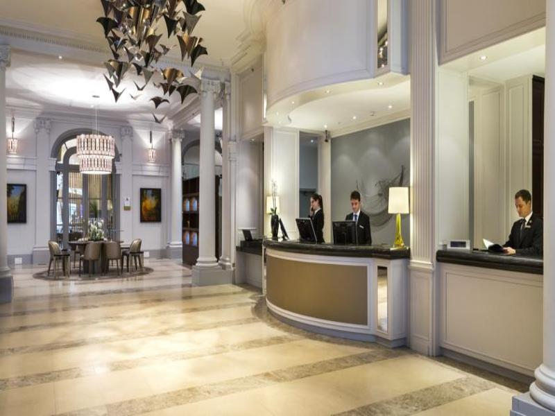 Lobby Marriott Hotel Paris Opera Ambassador