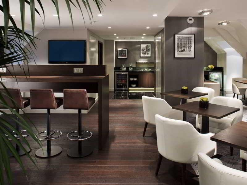 Restaurant Marriott Hotel Paris Opera Ambassador
