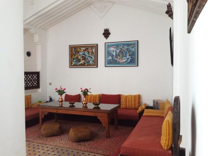 Lobby Riad Arous Chamel