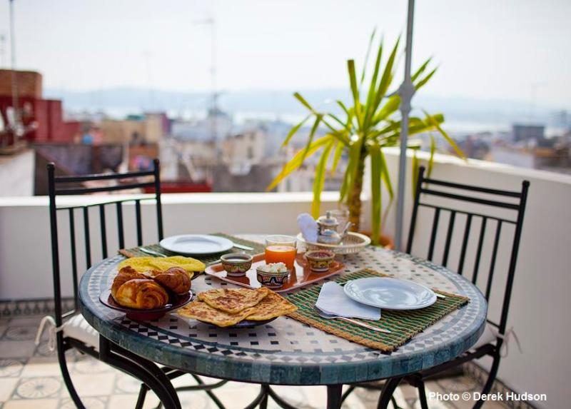 Terrace Riad Arous Chamel