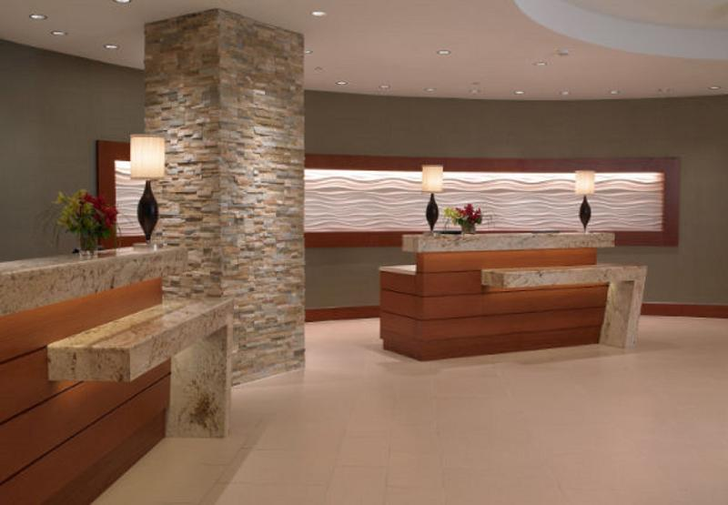 Lobby Minneapolis Marriott City Center