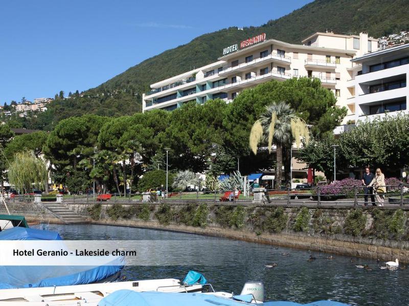 General view Minotel Geranio Au Lac