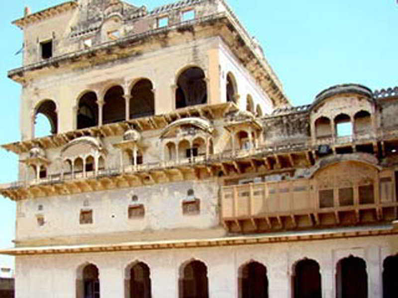 General view Mahalkhas Palace