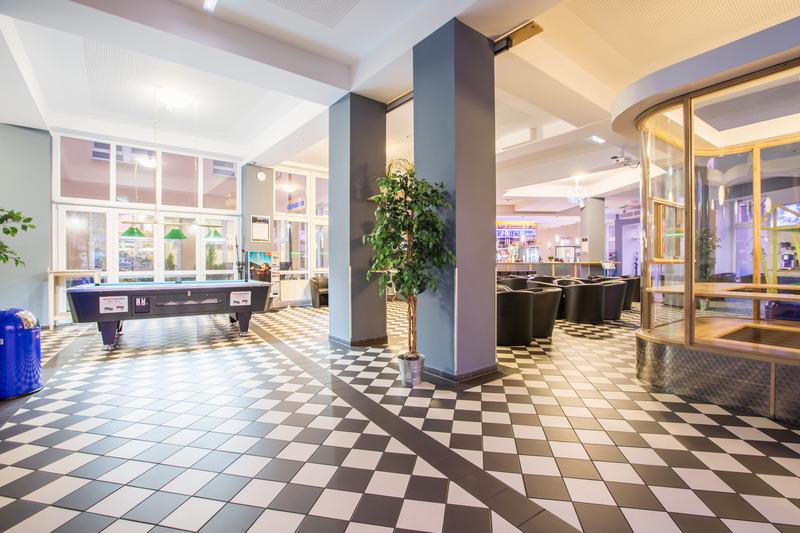 Lobby A&o Dortmund Hauptbahnhof