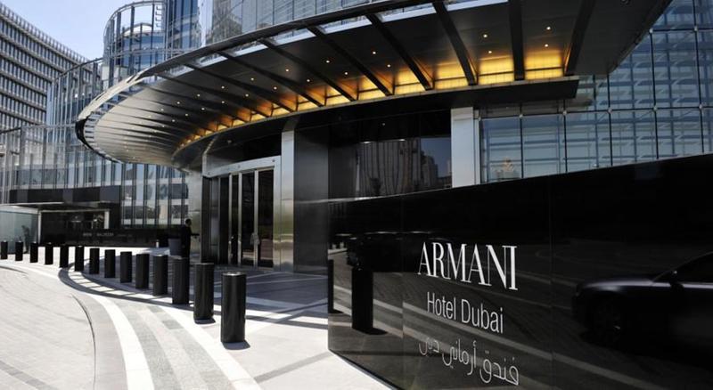 General view Armani Hotel Dubai