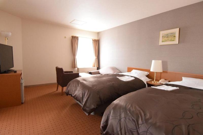 Coms New Chitose Airport Hotel - Room - 9