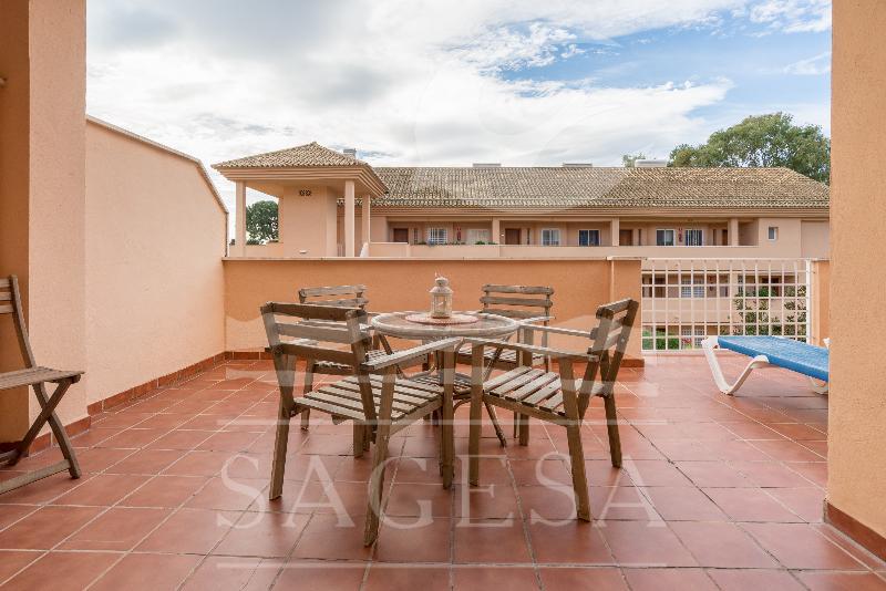 Terrace Apartamentos Jardines De Santa Maria Golf