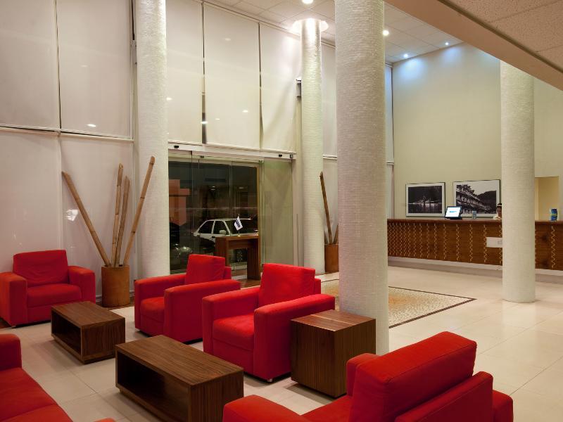 Lobby City Express Veracruz