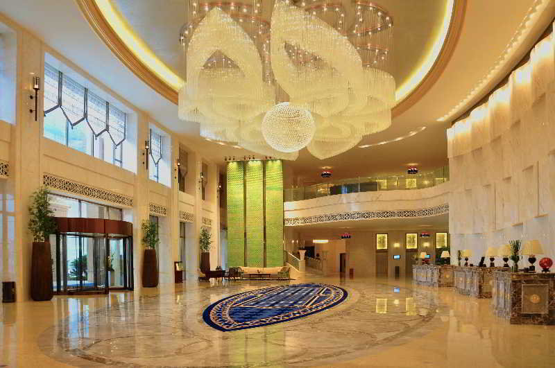 Lobby Howard Johnson Riverfront Plaza Fuzhou