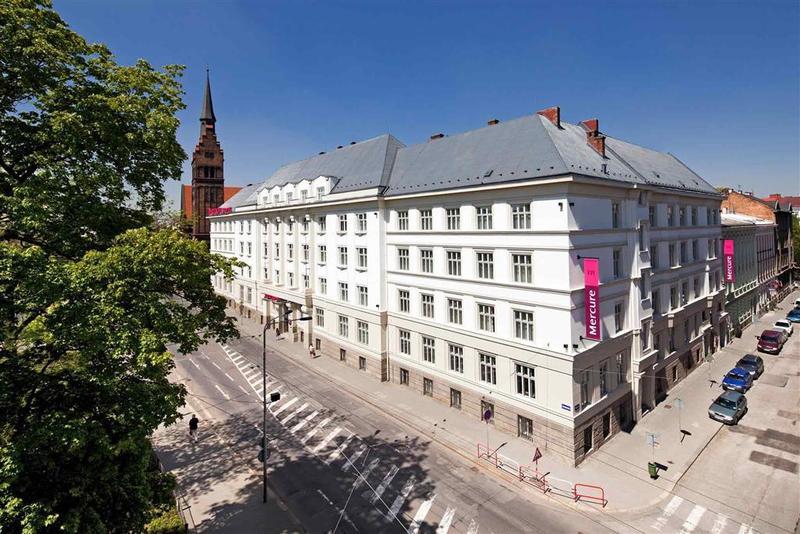 General view Mercure Ostrava Center