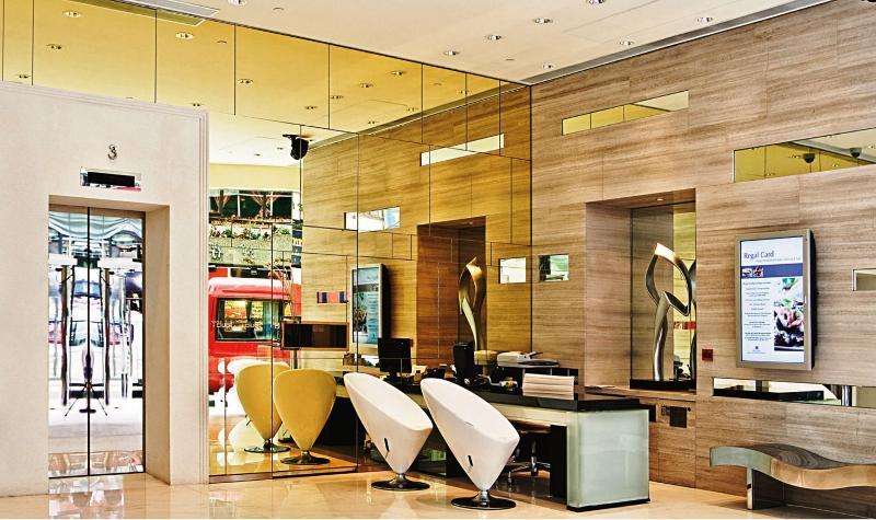 Lobby Iclub Wan Chai Hotel