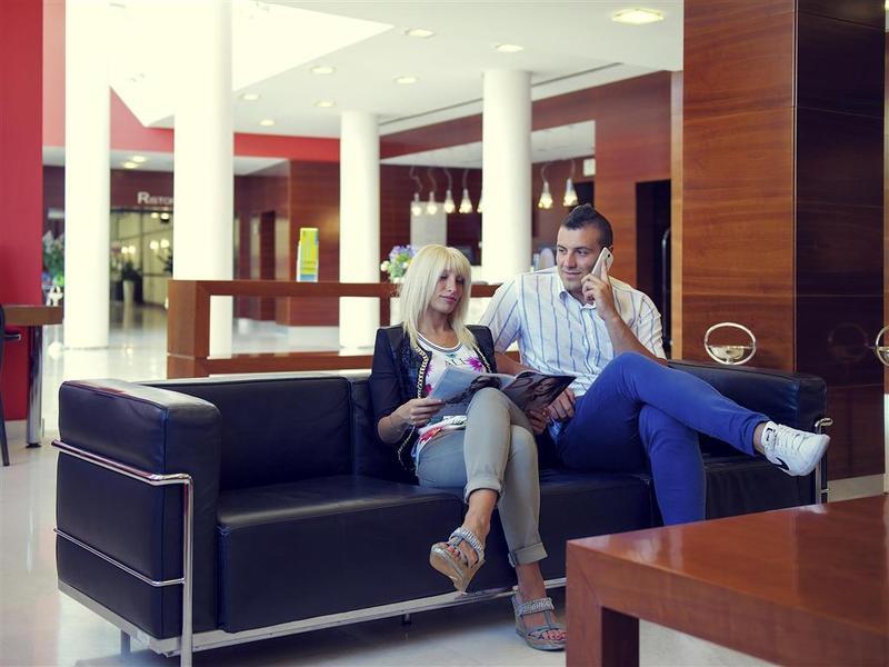 Lobby Mercure Genova San Biagio