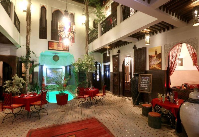 General view Riad La Porte Rouge