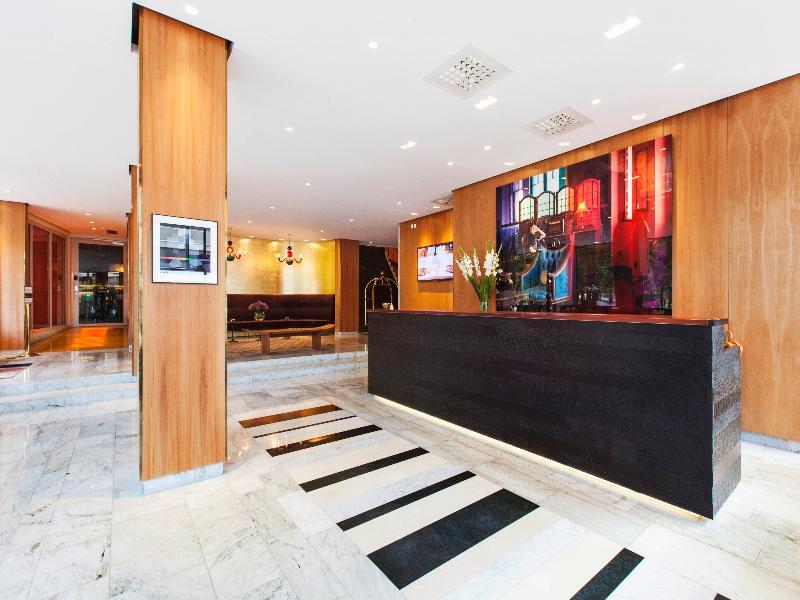 Lobby Elite Eden Park Hotel