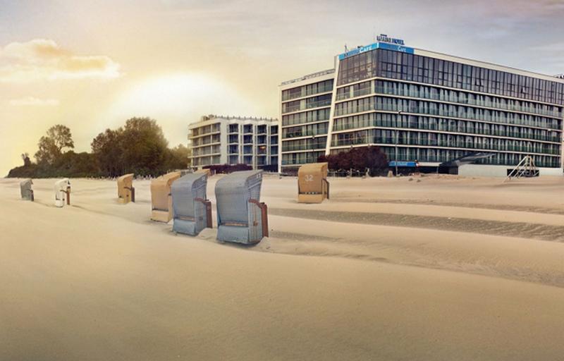 General view Marine Hotel By Zdrojowa