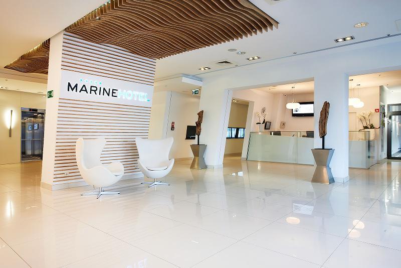 Lobby Marine Hotel By Zdrojowa