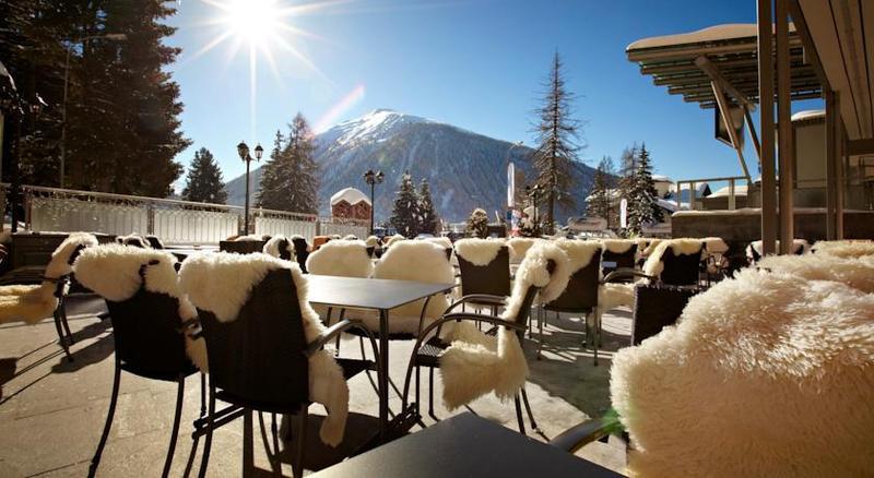 Terrace Hotel Seehof Davos