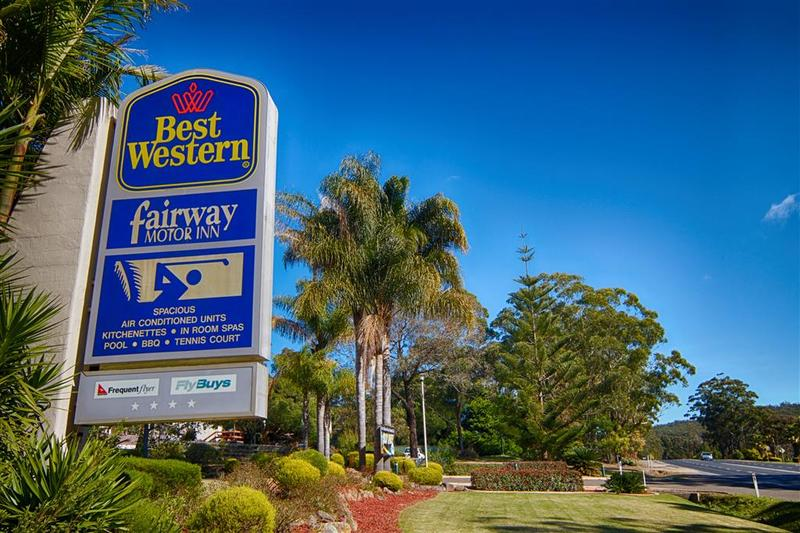 General view Best Western Fairway Motor Inn