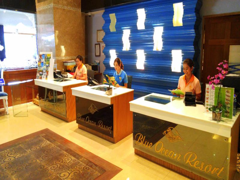 Lobby Blue Ocean Resort Phuket