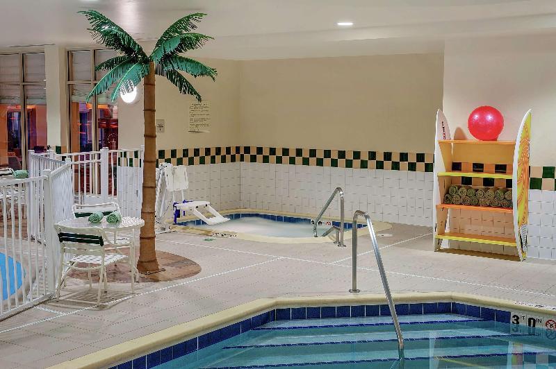 Pool Hilton Garden Inn Chicago Ohare Airport