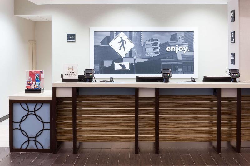 Lobby Hampton Inn & Suites Chicago North Shore Skokie