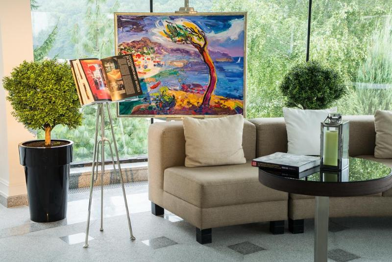 Lobby Edem Resort Medical & Spa