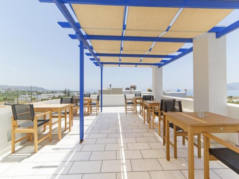 Semeli Hotel Naxos - Terrace - 9