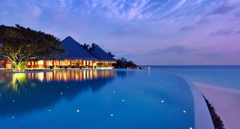 General view Dusit Thani Maldives
