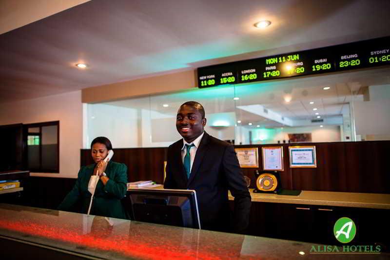 Lobby Alisa Hotel